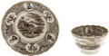 Political:3D & Other Display (pre-1896), William Henry Harrison: Cup and Saucer Set from the 1840 Campaign.One of the few china items that is clearly a campaign iss...