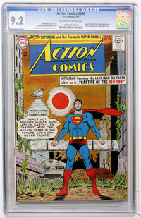 Action Comics #300 (DC, 1963) CGC NM- 9.2 Off-white to white pages