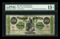 Large Size:Demand Notes, Fr. 11a $20 1861 Demand Note PMG Choice Fine 15 Net....