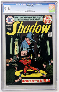 The Shadow #6 (DC, 1974) CGC NM+ 9.6 White pages