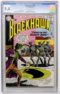 Silver Age (1956-1969):Adventure, Blackhawk #182 (DC, 1963) CGC NM 9.4 Off-white to white pages....