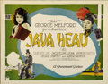 "Movie Posters:Drama, Java Head (Paramount, 1923). Title Lobby Card (11"" X 14"")...."