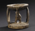 African: , Yoruba (Nigeria). Divination Cup, agere ifa. Wood. Height: 7 ¼ inches Width: 7 ¼ inches Depth: 6 ¾ inches. This cup ...