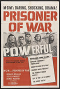 "Movie Posters:War, Prisoner of War (MGM, 1954). One Sheet (27"" X 41""). War...."