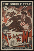 """Movie Posters:Serial, The Mysterious Mr. M (Universal, 1946). One Sheet (27"""" X 41""""). Serial. Chapter 4 -- """"The Double Trap."""" Starring Richard Mart..."""
