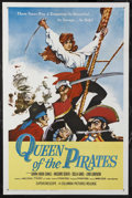 "Movie Posters:Adventure, Queen of the Pirates (Columbia, 1961). One Sheet (27"" X 41"").Adventure. Starring Gianna Maria Canale, Massimo Serato, Scill..."