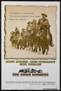 "Movie Posters:Western, The Train Robbers (Warner Brothers, 1973). One Sheet (27"" X 41"")Style B. Western...."