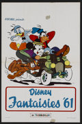 "Movie Posters:Animated, Disney Animation Lot (Buena Vista, 1960s). Belgian (14"" X 21""). Animation. Produced by Walt Disney. These compilation films ... (Total: 2 Items)"