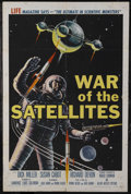 "Movie Posters:Science Fiction, War of the Satellites (Allied Artists, 1958). One Sheet (27"" X41""). Science Fiction. Directed by Roger Corman. Starring Sus..."