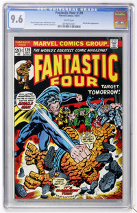Fantastic Four #139 (Marvel, 1973) CGC NM+ 9.6 White pages