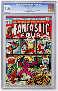 Fantastic Four #140 (Marvel, 1973) CGC NM+ 9.6 White pages
