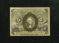 Fractional Currency:Second Issue, Fr. 1233 5c Second Issue Extremely Fine-About New. A light center bend and a broad corner fold are noticed....