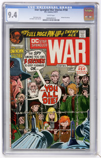 Star Spangled War Stories #158 (DC, 1971) CGC NM 9.4 White pages