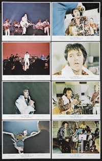 "Elvis: That's the Way It Is (MGM, 1970). Lobby Card Set of 8 (11"" X 14""). Musical Documentary. Starring Elvis..."