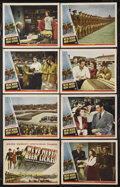 """Movie Posters:War, We've Never Been Licked (Universal, 1943). Lobby Card Set of 8 (11""""X 14""""). War Drama. Starring Richard Quine, Anne Gwynne, ... (Total:8 Items)"""