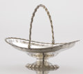 Silver Holloware, American:Baskets, AN AMERICAN SILVER BASKET. Grosjean and Woodward, New York, NewYork, circa 1854-1865. Marks: TIFFANY & CO., 6968, G&W,G&...