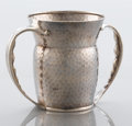 Silver Holloware, American:Cups, AN AMERICAN SILVER TWO-HANDLED CUP. Tiffany & Co., New York,New York, circa 1880. Marks: TIFFANY & CO., 5975 MAKERS3518,...