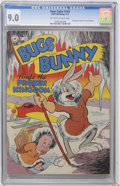 Golden Age (1938-1955):Funny Animal, Four Color #164 Bugs Bunny (Dell, 1947) CGC VF/NM 9.0 Off-white towhite pages....