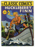 Golden Age (1938-1955):Classics Illustrated, Classic Comics #19 Huckleberry Finn - First Edition (Island, 1944)Condition: VG/FN....