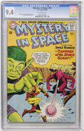 Silver Age (1956-1969):Science Fiction, Mystery in Space #93 (DC, 1964) CGC NM 9.4 Off-white pages....