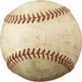 Autographs:Baseballs, Babe Ruth Single Signed Baseball. ...