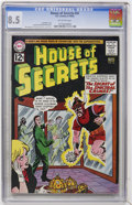 Silver Age (1956-1969):Mystery, House of Secrets #56 (DC, 1962) CGC VF+ 8.5 Off-white pages....