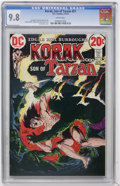 Bronze Age (1970-1979):Miscellaneous, Korak, Son of Tarzan #51 (DC, 1973) CGC NM/MT 9.8 White pages....