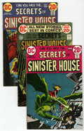 Bronze Age (1970-1979):Horror, Secrets of Sinister House Group (DC, 1972-74) Condition: AverageVF+.... (Total: 11 Comic Books)