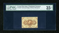 Fractional Currency:First Issue, Fr. 1229 5c First Issue PMG Net Very Fine 25....