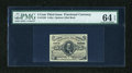 Fractional Currency:Third Issue, Fr. 1236 5c Third Issue PMG Choice Uncirculated 64 EPQ....