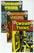 Bronze Age (1970-1979):Horror, Swamp Thing Group (DC, 1973-76) Condition: Average VF/NM....(Total: 8 Comic Books)