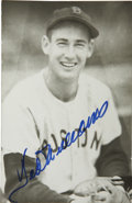 Autographs:Post Cards, Ted Williams Signed Brace Postcard. While the pictured Hall ofFamer on the Brace postcard that we present here makes for a...