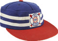 Baseball Collectibles:Hats, Souvenir 1960 MLB All-Star Cap. Magnificent MLB souvenir baseball cap comes from the 1960 All-Star Game is a felt offering ...