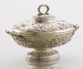 Silver Holloware, American:Other , AN AMERICAN SILVER TUREEN WITH LID. Tiffany & Co., New York,New York, circa 1875. Marks: TIFFANY & CO., 4121 MAKERS1517,...