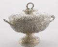 Silver Holloware, American:Other , AN AMERICAN SILVER TUREEN WITH LID. Tiffany & Co., New York,New York, circa 1875. Marks: TIFFANY & CO., 4119 MAKERS3354,...