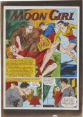 Original Comic Art:Miscellaneous, Moon Girl and the Prince - Hand-Colored Color Guide Production Art,Group of 30 (EC, 1947-48).... (Total: 30 Items)