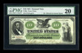 Large Size:Demand Notes, Fr. 6a $10 1861 Demand Note PMG Very Fine 20....