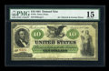 Large Size:Demand Notes, Fr. 7a $10 1861 Demand Note PMG Choice Fine 15....