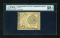 Colonial Notes:Continental Congress Issues, Continental Currency September 26, 1778 $60 PMG Choice About Unc 58EPQ....