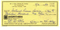 Autographs:Checks, 1986 Bill Dickey Signed Check. This great collectible brings theautograph of Yankee legend Bill Dickey by way of this 1986...