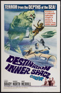 "Movie Posters:Science Fiction, Destination Inner Space (Magna, 1966). One Sheet (27"" X 41"").Science Fiction...."