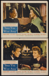"Since You Went Away (United Artists, 1944). Lobby Cards (2) (11"" X 14""). Drama.... (Total: 2 Items)"