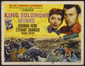 "Movie Posters:Adventure, King Solomon's Mines (MGM, 1950). Title Lobby Card (11"" X 14"").Adventure...."