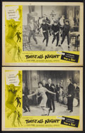 "Movie Posters:Rock and Roll, Twist All Night (American International, 1962). Lobby Cards (2)(11"" X 14""). Rock and Roll.... (Total: 2 Items)"