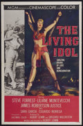 "Movie Posters:Adventure, The Living Idol (MGM, 1956). One Sheet (27"" X 41""). Adventure...."