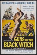 "Movie Posters:Adventure, Guns of the Black Witch (American International, 1961). One Sheet(27"" X 41""). Adventure...."