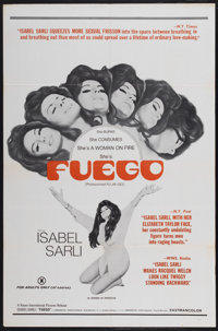 """Fuego (Haven International Pictures, 1969). One Sheet (27"""" X 41""""). Adult"""