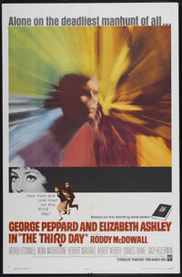 """The Third Day (Warner Brothers, 1965). One Sheet (27"""" X 41""""). Drama"""