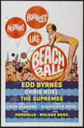 "Movie Posters:Rock and Roll, Beach Ball (Paramount, 1965). One Sheet (27"" X 41""). Rock andRoll...."