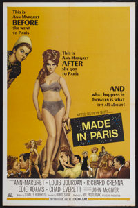 "Made in Paris (MGM, 1966). One Sheet (27"" X 41""). Comedy"